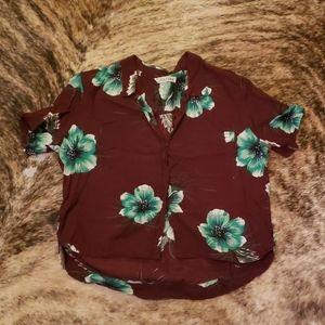Volcom Hawaiian shirt